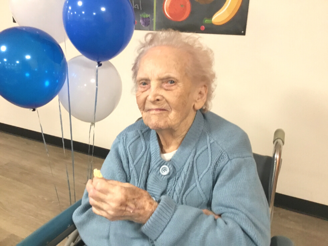 Olive Turns 102